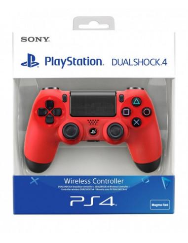 2586-PS4 - Mando DualShock 4 Rojo V2-0711719893752