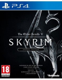 PS4 - The Elder Scrolls 5:...