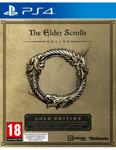 2397-PS4 - The Elder Scrolls Online Gold Edition-5055856411246