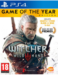 PS4 - The Witcher 3 Edicion...