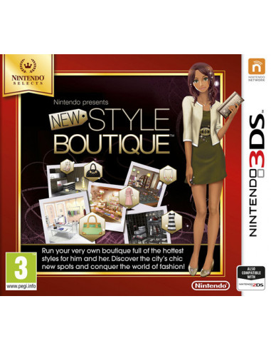 883-3DS - New Style Boutique - Selects --0045496472979