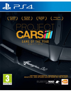 PS4 - Project Cars Edición...