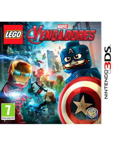 2674-3DS - LEGO Marvel Vengadores-5051893218466