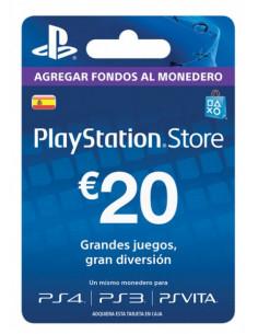 PSN - Tarjeta Prepago 20€...