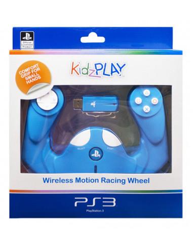 2874-PS3 - KidzPLAY Mando Infantil Racing Motion Oficial L.Sony - Azul-5055269703549