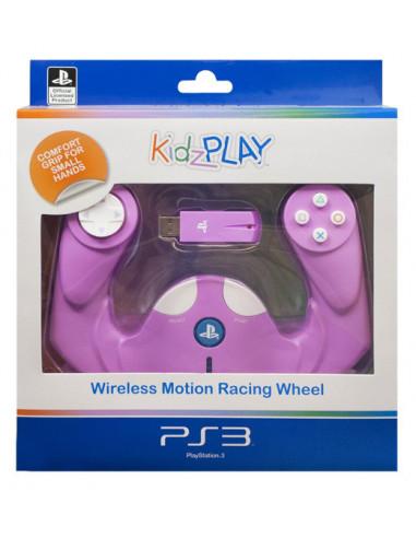 2572-PS3 - KidzPLAY Mando Infantil Racing Motion Oficial L.Sony - Rosa-5055269703709