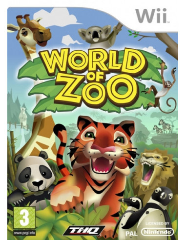 2854-Wii - World of Zoo - Import UK - -4005209129916