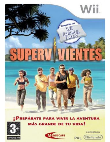 2564-Wii - Supervivientes-5390102502980