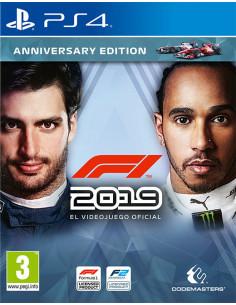 PS4 - Formula 1 2019...