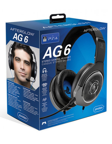 847-PS4 - AG6 Wired Afterglow Auricular Gaming Licenciado-0708056061579