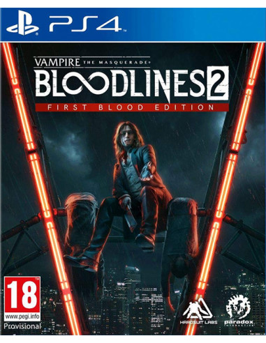 1728-PS4 - Vampire: The Masquerade - Bloodlines 2 First Blood -4020628739447