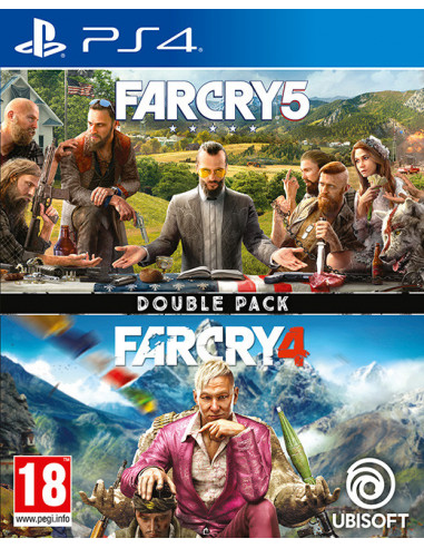 1217-PS4 - Far Cry 4 + Far Cry 5 Double Pack-3307216134886