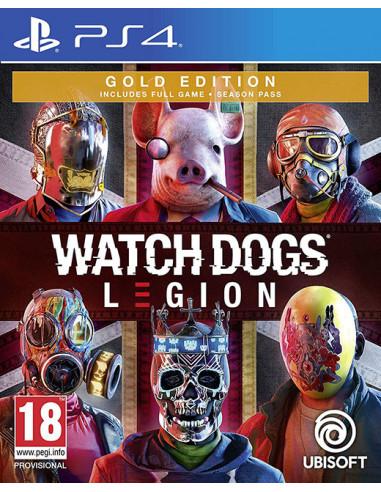 1350-PS4 - Watch Dogs Legion Edicion Gold-3307216143222