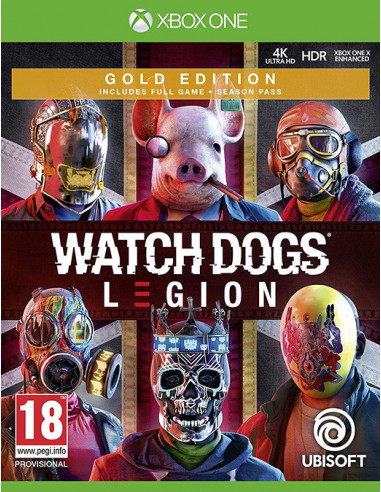 2226-Xbox Smart Delivery - Watch Dogs Legion Edición Gold-3307216143321