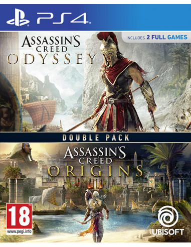 2966-PS4 - Assassin's Creed Odyssey + Origins Doble Pack-3307216141723