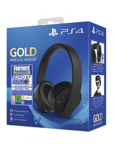 PS4 - Gold Wireless Headset...