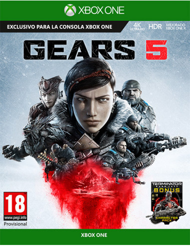 3050-Xbox One - Gears of War 5-0889842519181