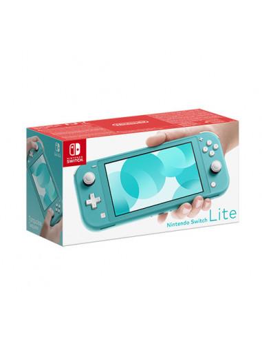 3032-Switch - Nintendo Switch Consola Lite Azul Turquesa-0045496452711