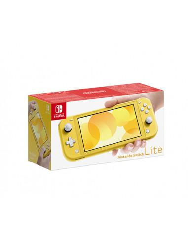 3020-Switch - Nintendo Switch Consola Lite Amarillo-0045496452681