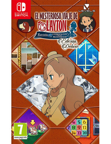 3024-Switch - El Misterioso Viaje de Layton-0045496425555