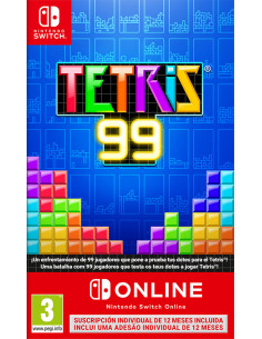 Switch - Tetris 99 + 12...