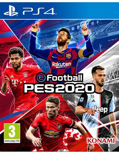 1531-PS4 - eFootball Pro Evolution Soccer PES 2020-4012927104514