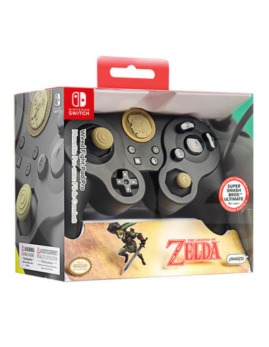 3120-Switch - Wired Fight Pad Pro Controller Link Special (Zelda) - Licenc-0708056065898