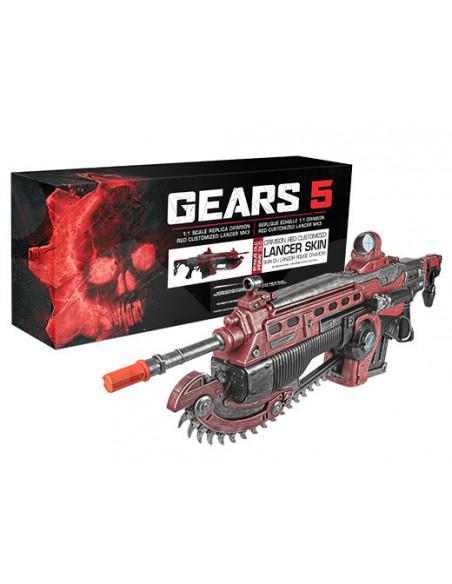 -3184-Merchandising - Gears of War 5 Lancer Replica 1:1-0708056065386