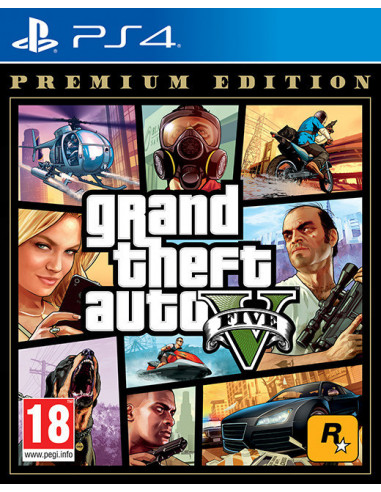 3178-PS4 - Grand Theft Auto V (GTA V) Premium Edition-5026555424295