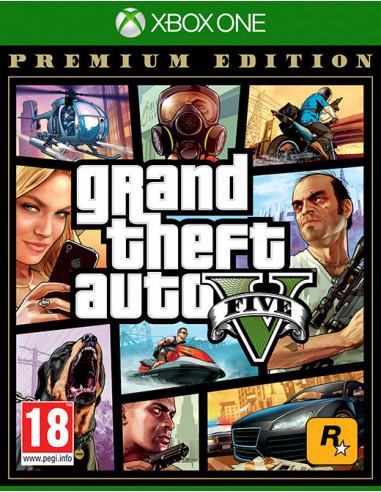 3177-Xbox One - Grand Theft Auto V (GTA V) Premium Edition-5026555360029