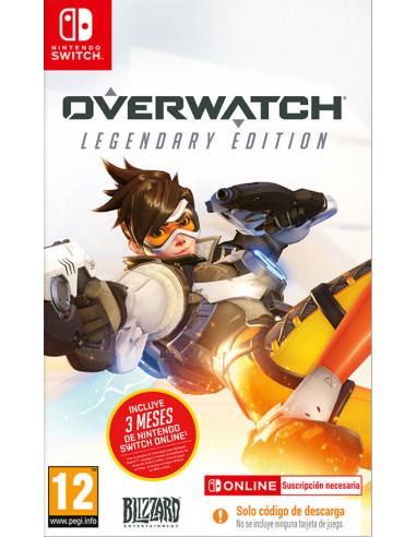 3347-Switch - Overwatch Edicion Legendary+ 3 M Switch Online (Code in Box)-5030917288067