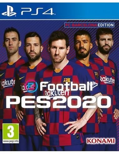3410-PS4 - eFootball Pro Evolution Soccer 2020 FC Barcelona Edition -4012927104668