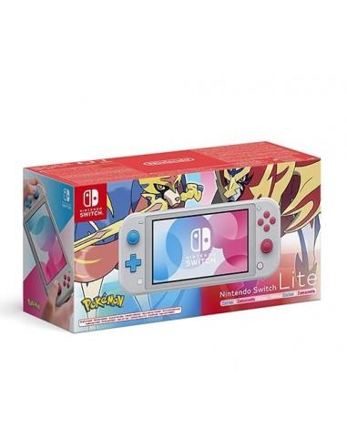 2975-Switch - Nintendo Switch Consola Lite Edicion Limitada Zacian y Zamaz-0045496453091