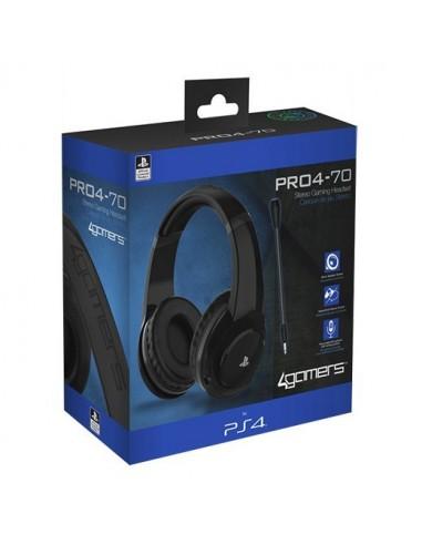3479-PS4 - PRO4 70 Negro Auricular Gaming Licenciado-5055269709183