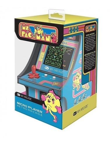 3117-Retro - My Arcade Micro Player Retro Arcade Miss Pac Man Consola-0845620032303