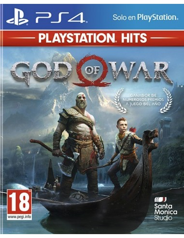3489-PS4 - God of War - PS Hits --0711719965107
