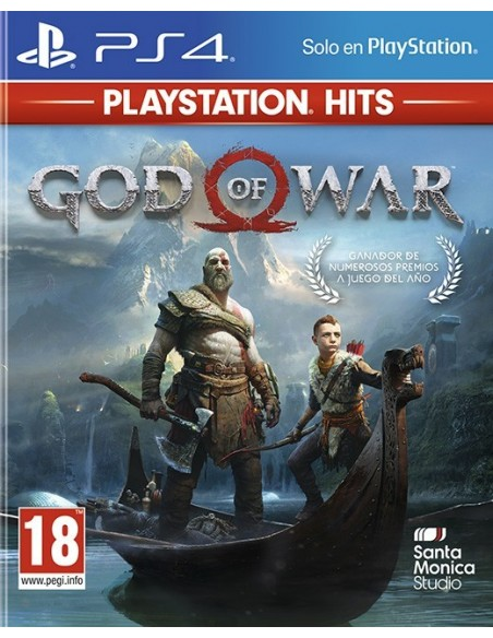 -3489-PS4 - God of War - PS Hits --0711719965107