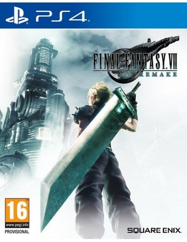 601-PS4 - Final Fantasy VII Remake-5021290084506