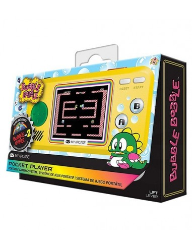 3501-Retro - My Arcade Pocket Player Bubble Bobble Consola-0845620032488
