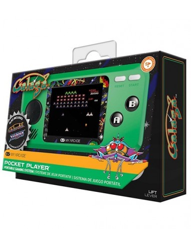 3502-Retro - My Arcade Pocket Player Galaga Consola-0845620032440