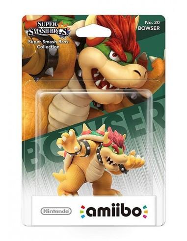 3525-Amiibos - Figura Amiibo Bowser (Serie SSB)-0045496352554