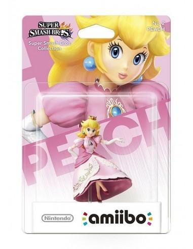 3521-Amiibos - Figura Amiibo Peach (Serie SSB)-0045496352370
