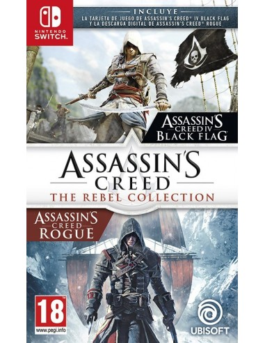 3345-Switch - Assassin's Creed: The Rebel Collection ( Black Flag + Rogue)-3307216148456