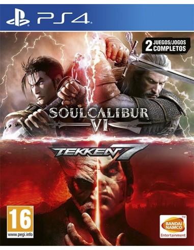 3483-PS4 - Tekken 7 + Soulcalibur VI-3391892007183