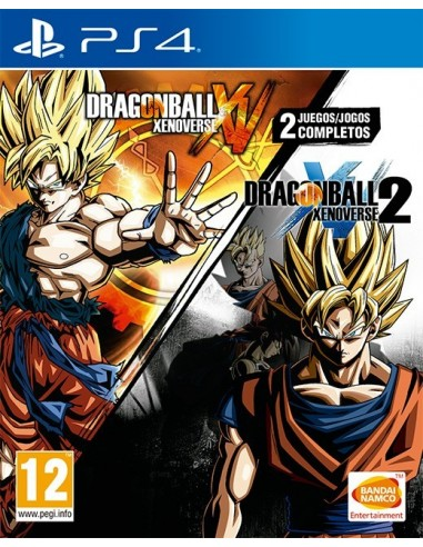 3485-PS4 - Dragon Ball Xenoverse 1 + 2 Compilation-3391892001747