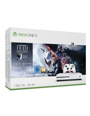 3560-Xbox One - Xbox One Consola S 1TB + Star Wars Jedi: Fallen Order-0889842485110