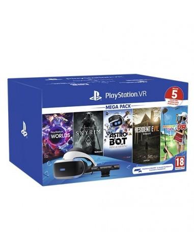 3570-PS4 - PlayStation VR + Camara + Mega Pack Version 2 (5 Juegos)-0711719998907