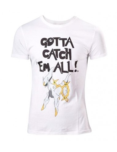 3591-Merchandising - Camiseta Blanca Pokemon Arceus GCEA T-L-8718526073973