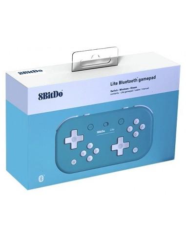 3582-Switch - Mando Wireless Switch Lite - Azul 8bitdo (Switch - PC)-6922621501091