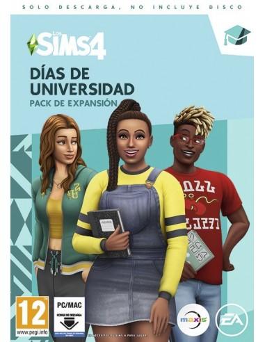 3590-PC - Los Sim 4 dias de Universidad Expansion (Code in Box)-5030944122723
